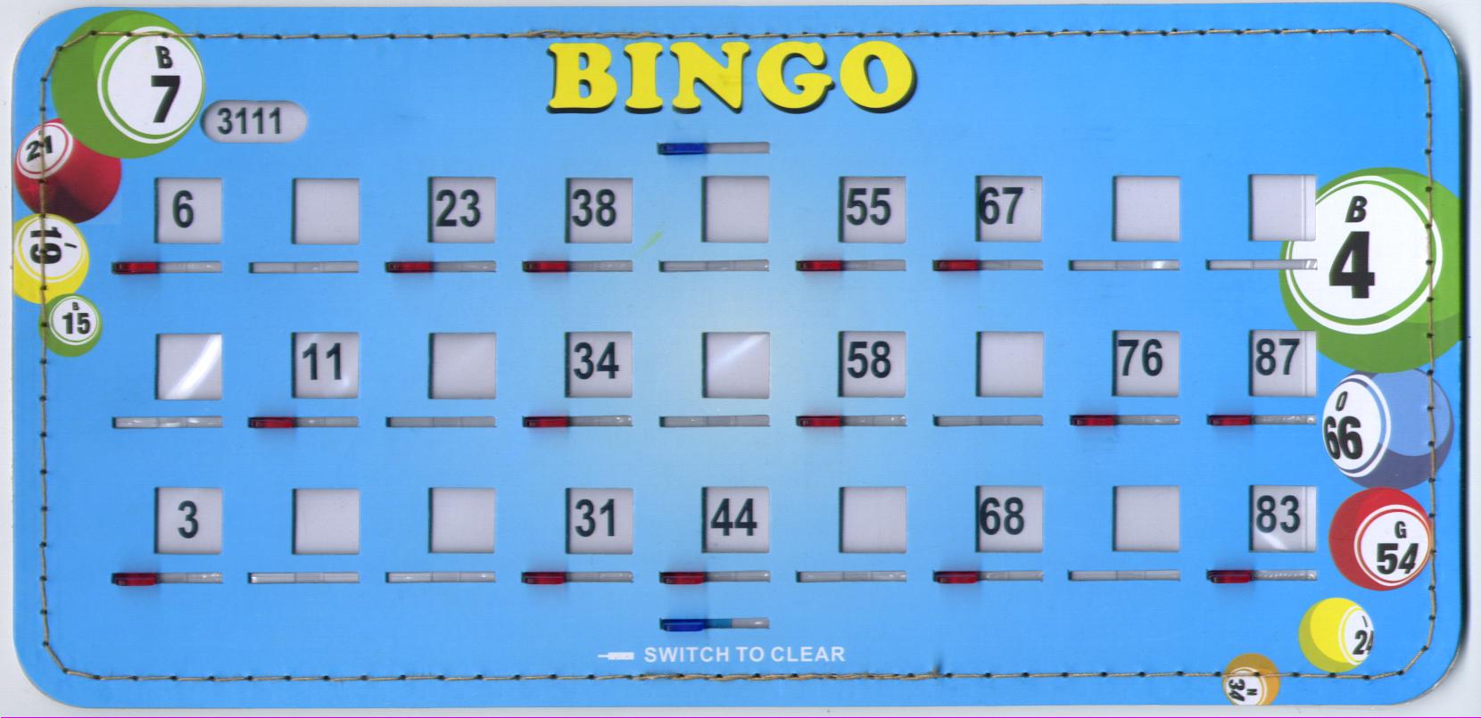 Bingo Shutterboards