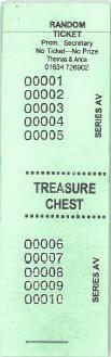 Treasure Chest Tickets