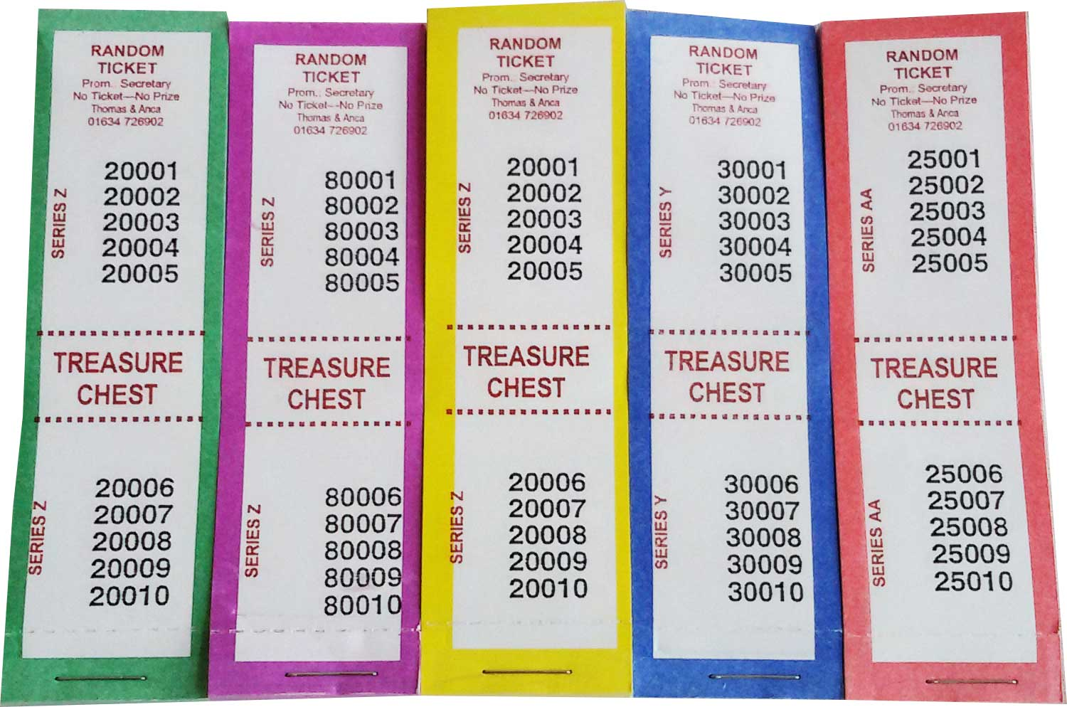 Treasure Chest Tickets