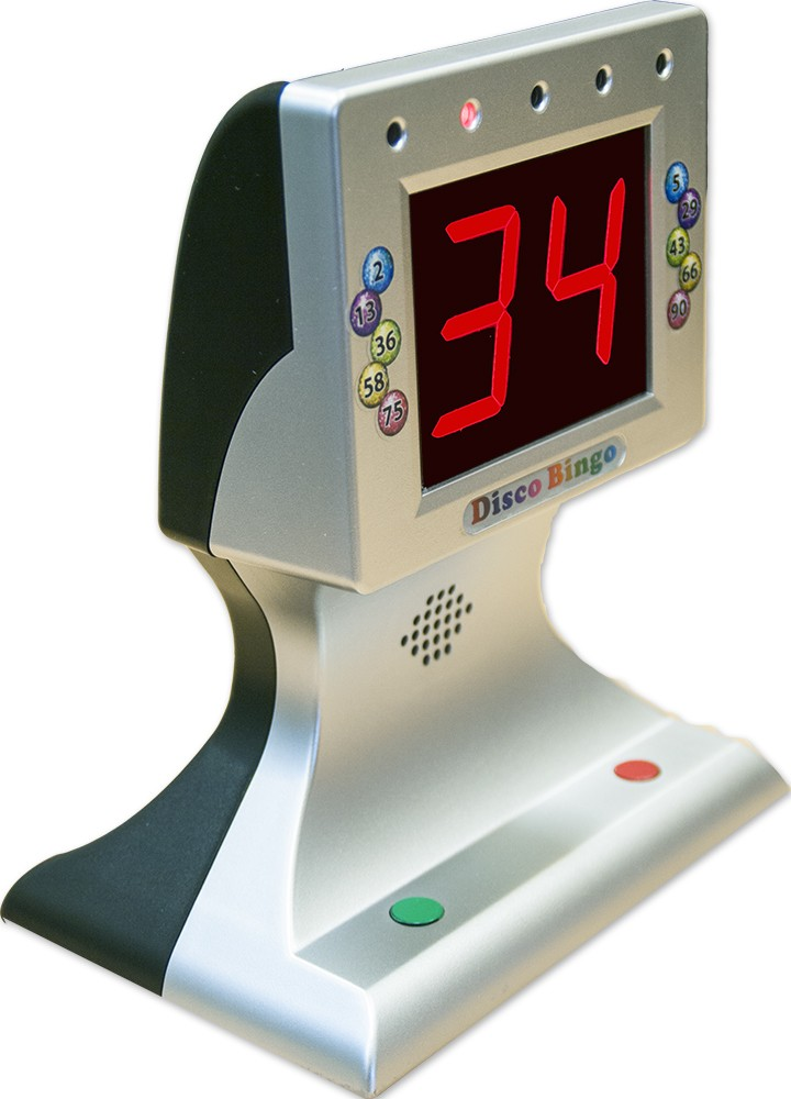 thomas and anca disco bingo electronic bingo machine music  u0026 lights 1