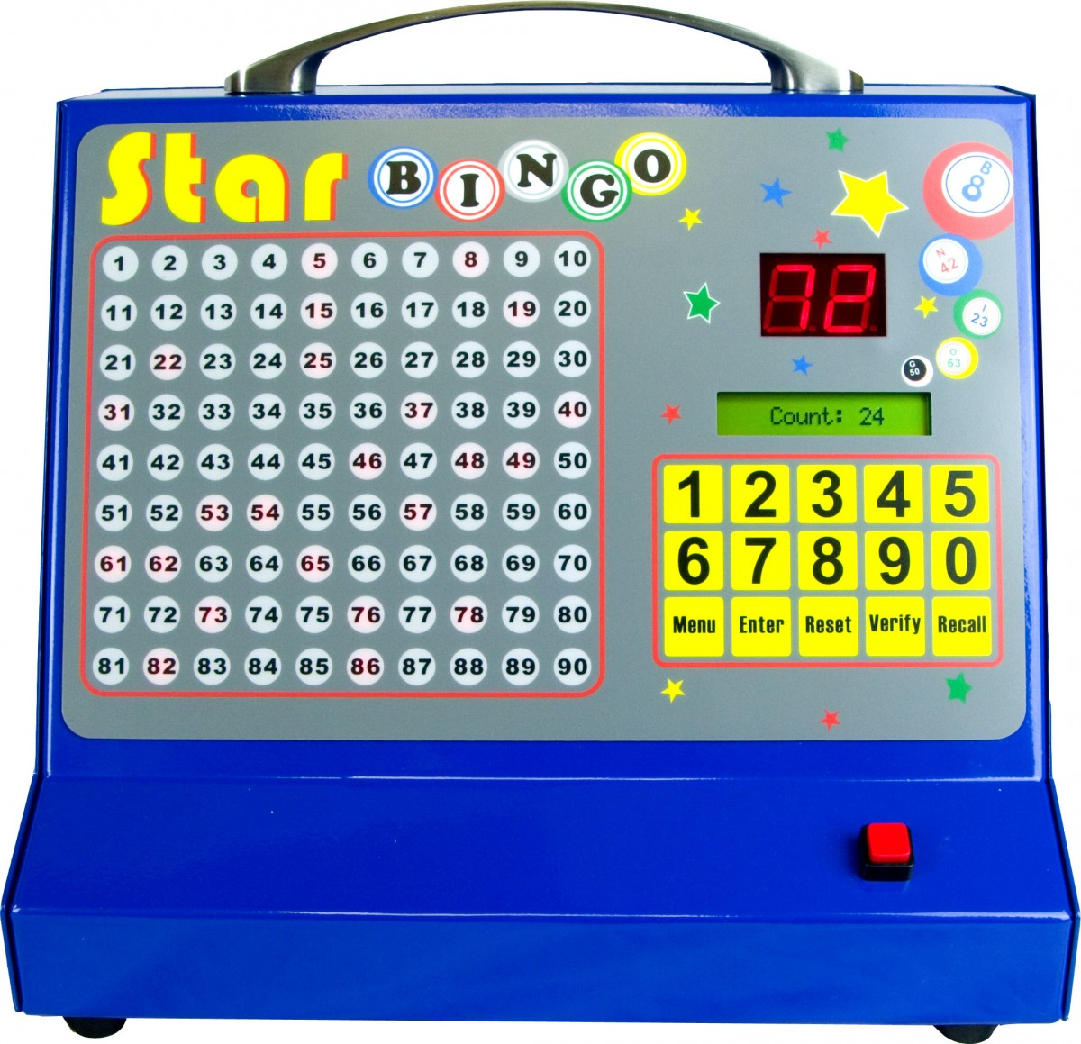 thomas and anca star bingo electronic bingo machine