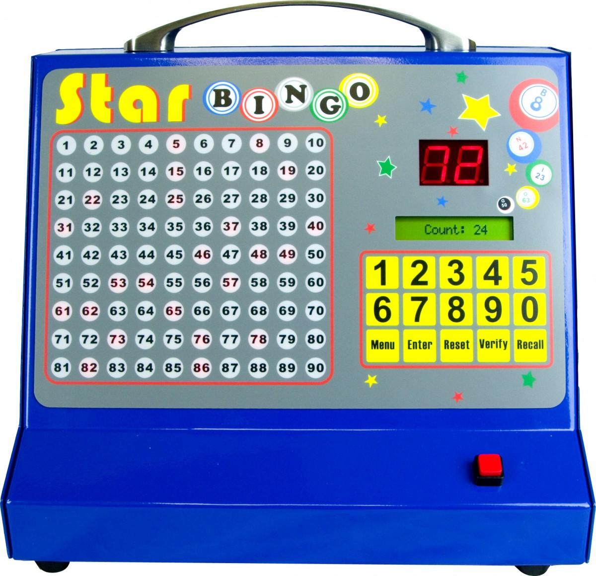 thomas and anca star bingo electronic bingo machine
