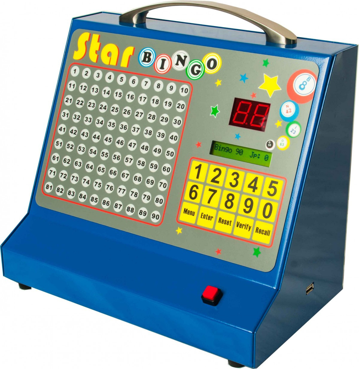 professional bingo machine