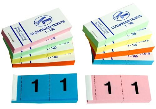 custom raffle ticket books