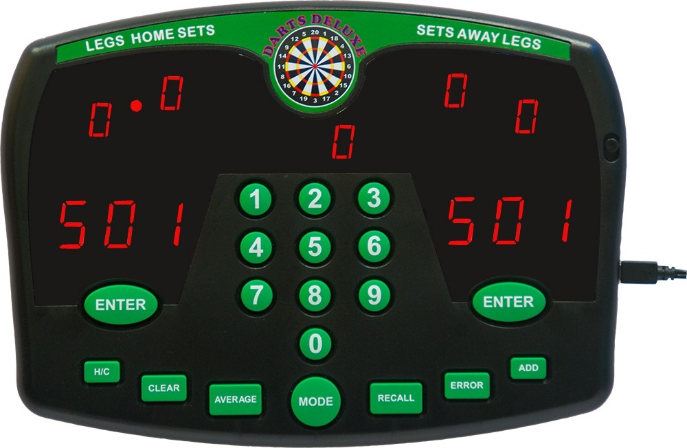 thomas and anca darts deluxe electronic dart scorer