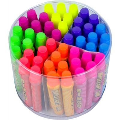 15ml Fluorescent Ink Slimline Dabbers Tub of 48