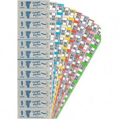 24000 9 Game 12 to VIew Bingo Ticket Books