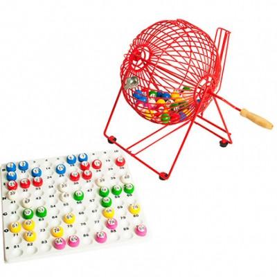 Bingo Cage, Check-tray & Balls