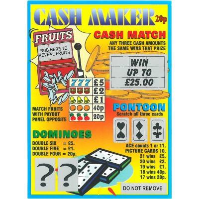 Cashmaker Fundraiser Tickets