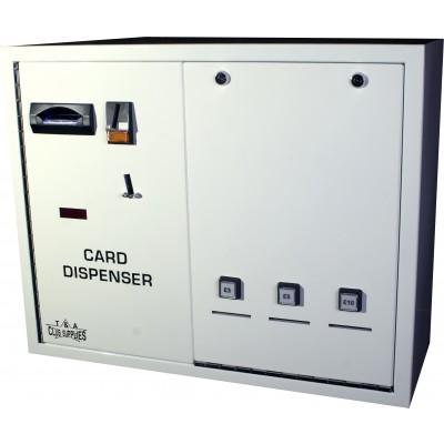 CD203 Triple Column Card Dispenser