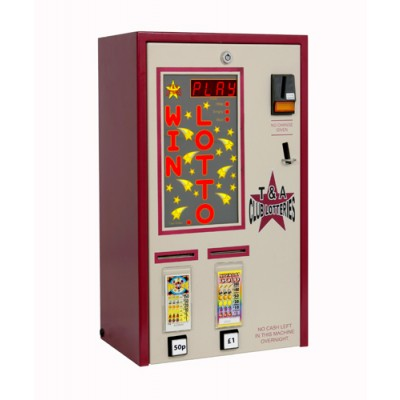 Double Column Pull Tab Lottery Machine