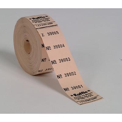 5 No. Raffle Spinner Roll Tickets