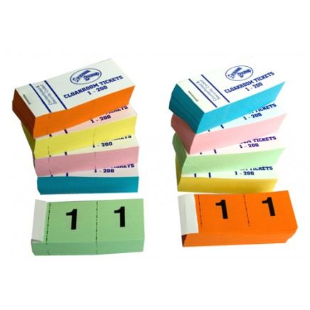 Cloakroom / Raffle Tickets 1-200 (Pack 25)
