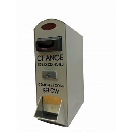 NOVA Change Machine - Notes to £1 Coins