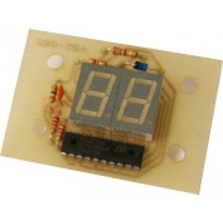 Coin + 2 Digit Display Board