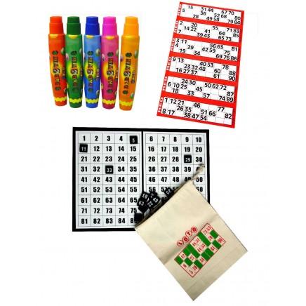 Bingo Starter Kit with Board & Discs