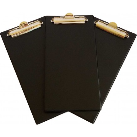 Bingo Clipboards - Black - Pack of 10