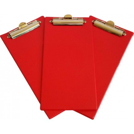 Bingo Clipboards - Red - Pack of 10