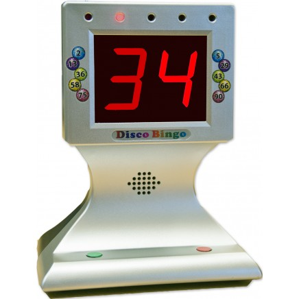 Disco Bingo Electronic Bingo Machine Music & Lights