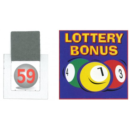 Lottery Bonus Ball Tickets 1-59