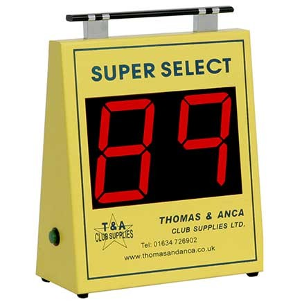 Thomas Super Select Electronic Bingo Machine