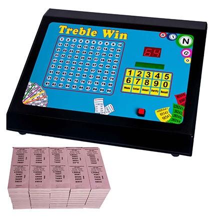 Treble Win Electronic Bingo Raffle Tote Machine
