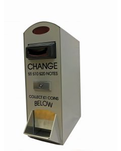 NOVA Change Machine - Notes to £1 Coins