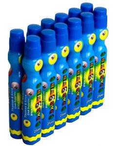 Dozen 25ml Blue Slimline Bingo Dabber Markers