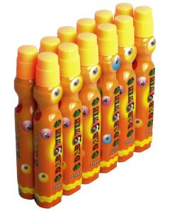 Dozen 25ml Orange Slimline Bingo Dabber Markers