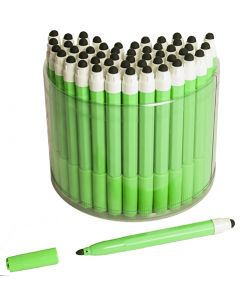 50 Green 2in1 Touchscreen Stylus Felt Marker Pen
