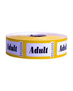 Adult Admission Roll Tickets