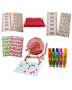 Bingo Starter Kit with Professional Bingo Cage
