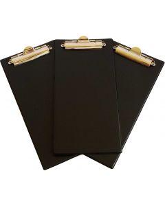 Bingo Clipboards - Black - Pack of 10