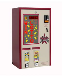 Double Column PAYG Pull Tab Lottery Machine