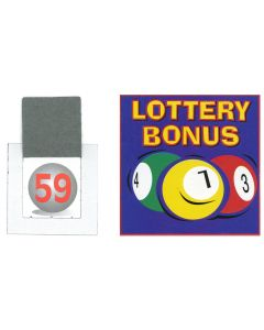 Lottery Bonus Ball Tickets 1-59