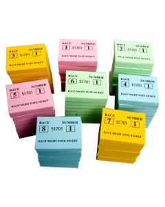 Race Night Tote Ticket Pads