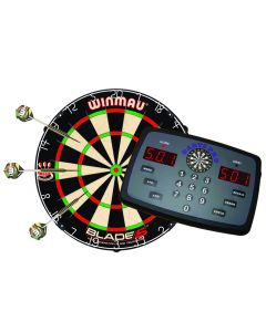 Darts Pro Bundle - Scorer, Blade 5 Dartboard & Dart Set