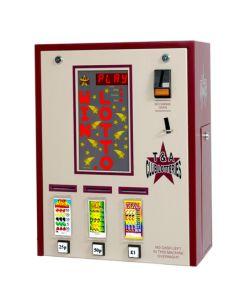 Triple Column Pull Tab Lottery Machine