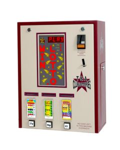 Triple Column PAYG Pull Tab Lottery Machine