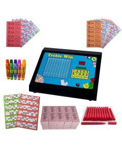 Bingo, Raffle & Tote Starter Kit with Treble Win Machine