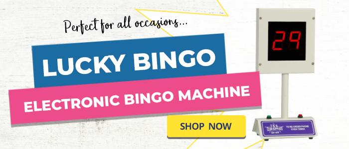 Lucky Bingo Electronic Bingo Machine
